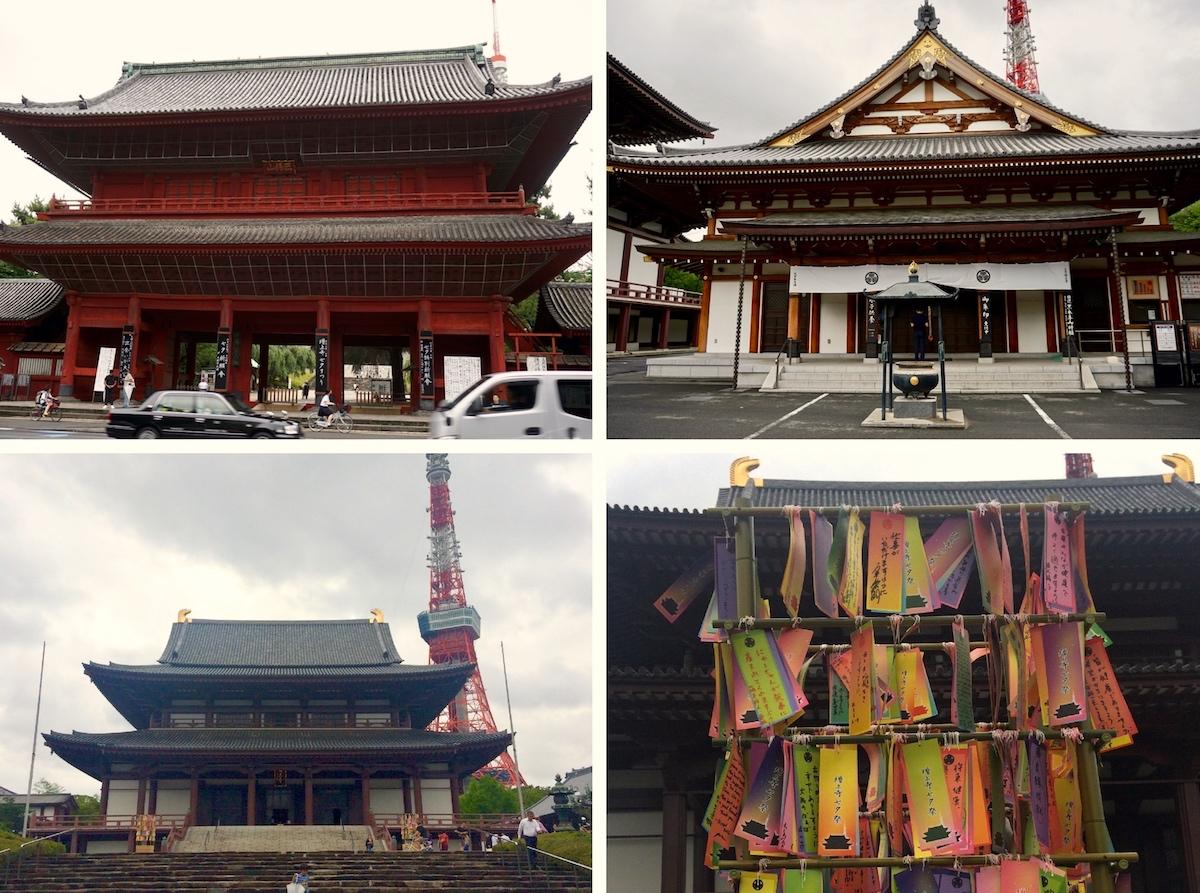 Tokio, Tempelanlage des Zojo-ji