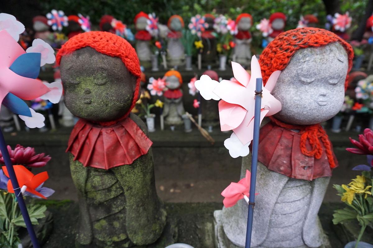 Tokio, Tempelanlage Zojo-ji, Wächter der verlorenen Kinder