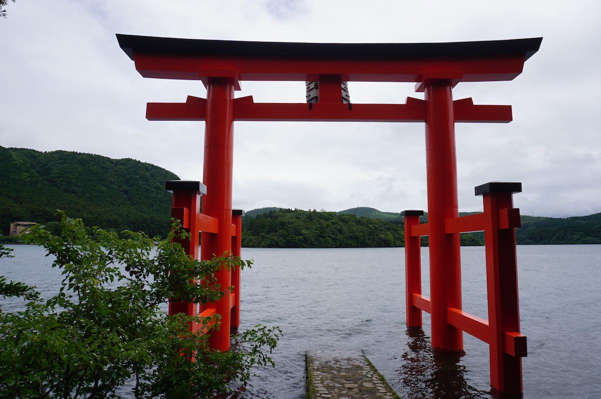 Ashi-See Hakone, Torii