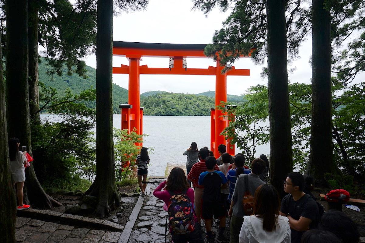 Hakone, Torii Ashi