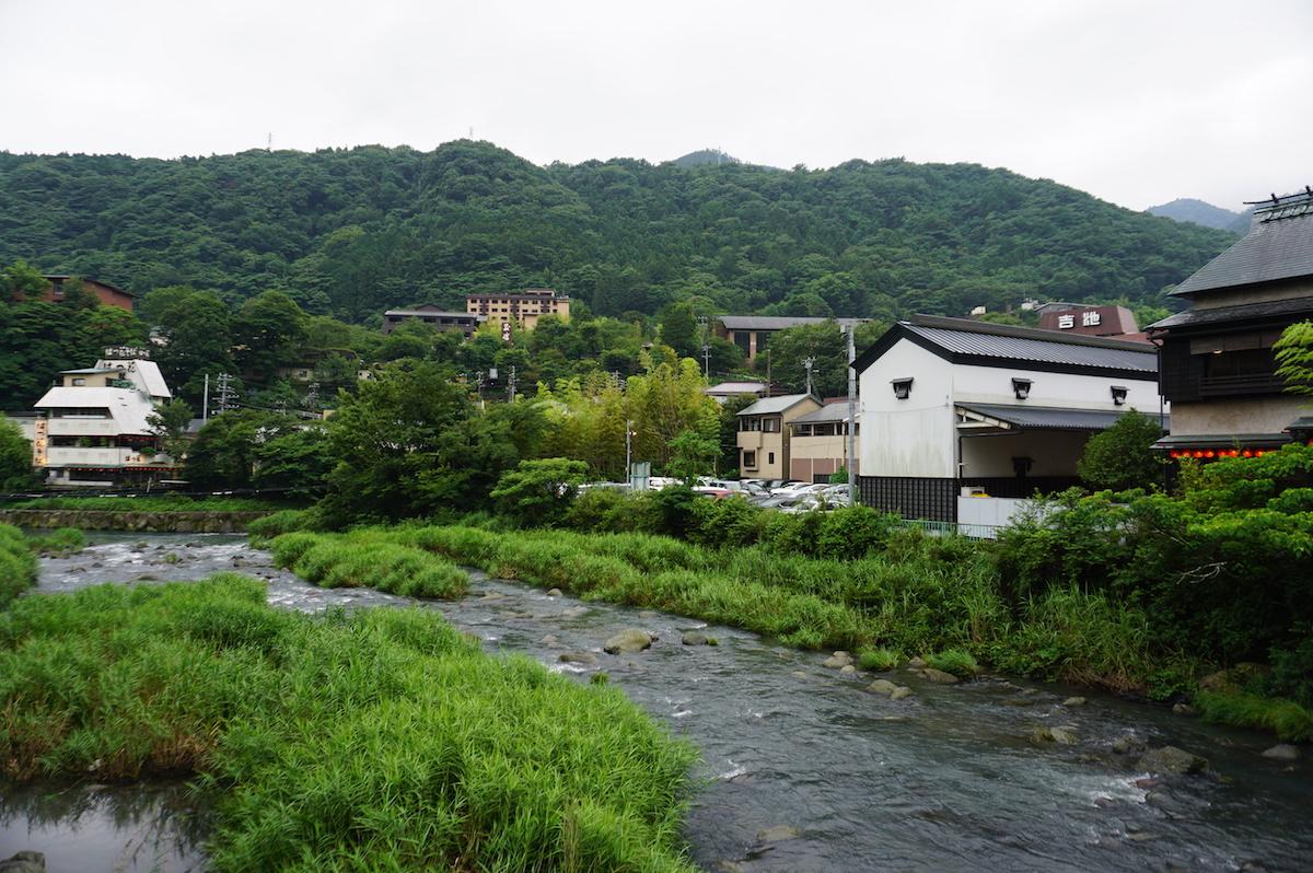 Japan, Hakone Übernachten im Ryokan