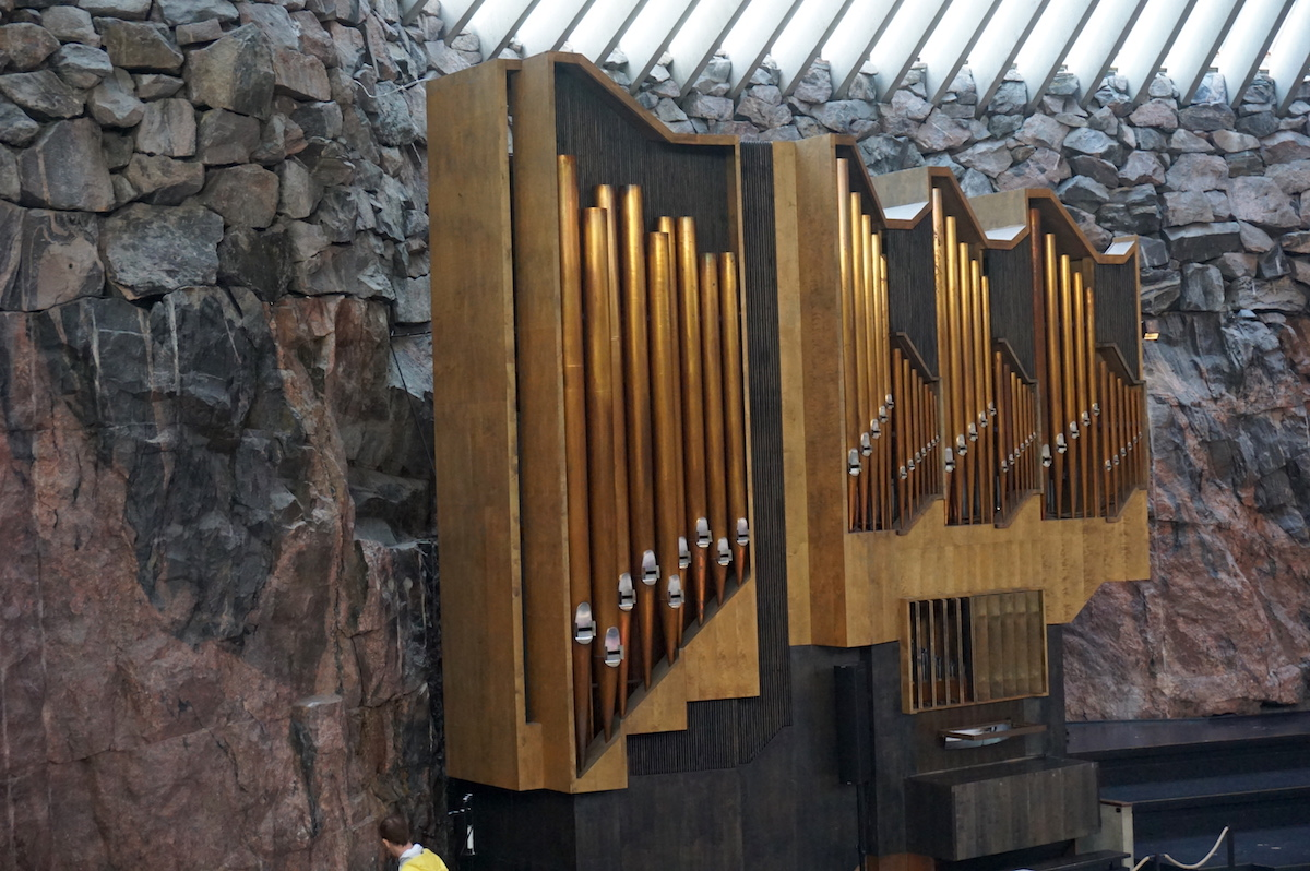 Helsinki Felsenkirche Temppeliaukion kirkko