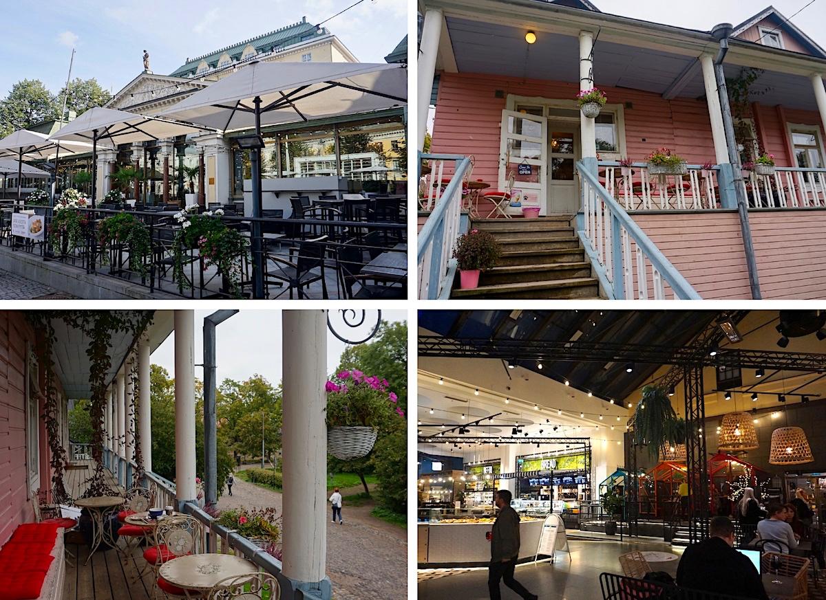 Cafés in Helsinki