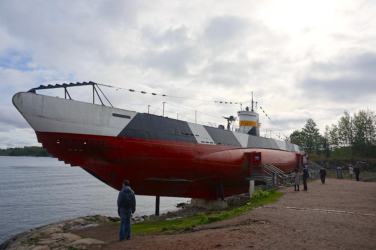 Helsinki, Suomenlinna U-Boot Vesikko