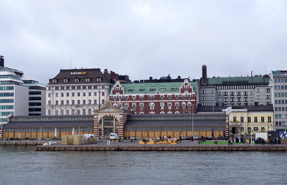 Helsinki, Blick auf die Markthalle