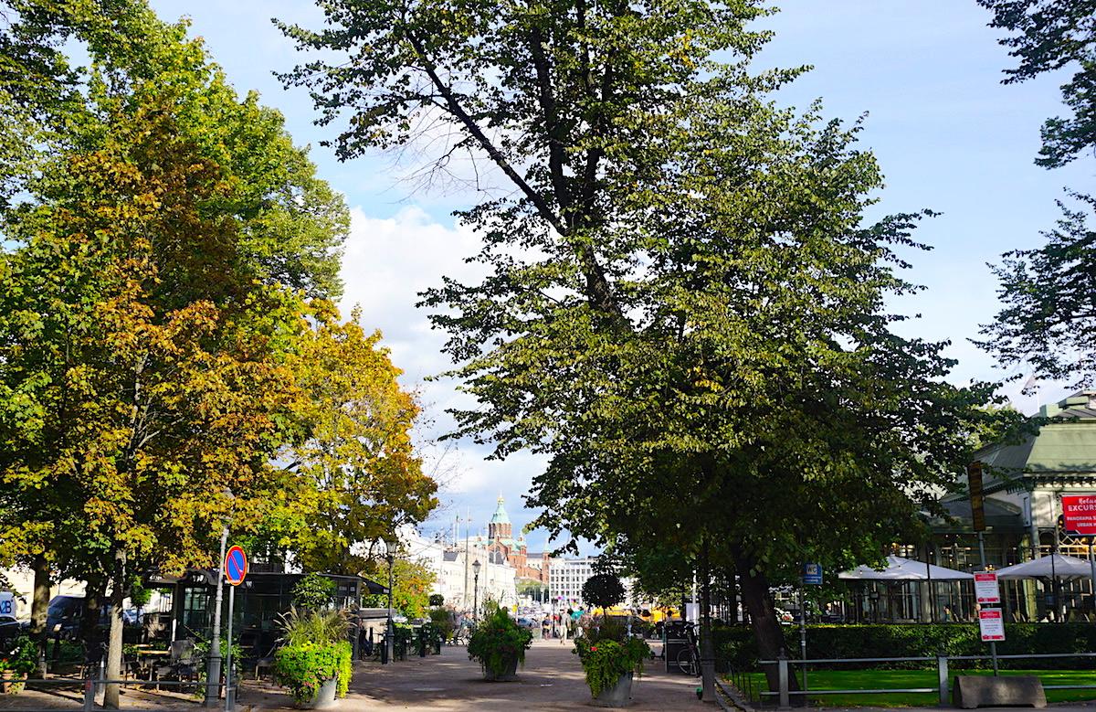 Helsinki Esplanade Stadtpark