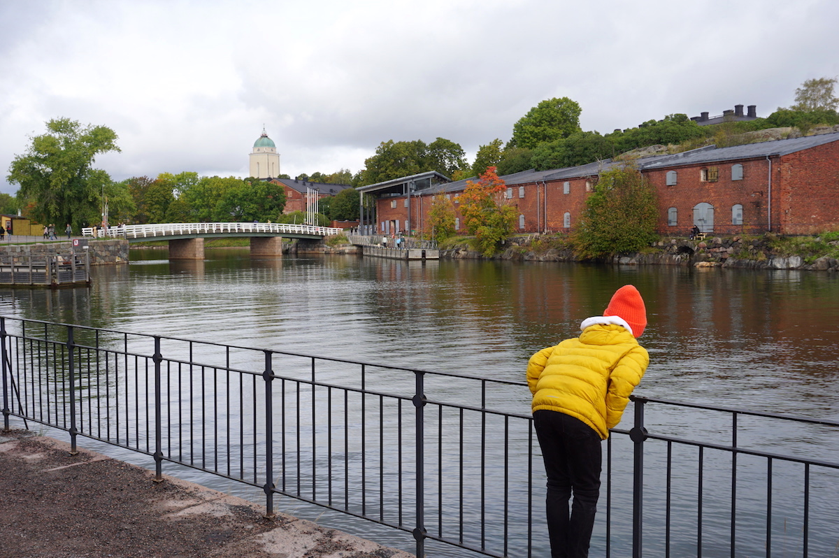 Helsinki im Herbst, Insel Suomenlinna