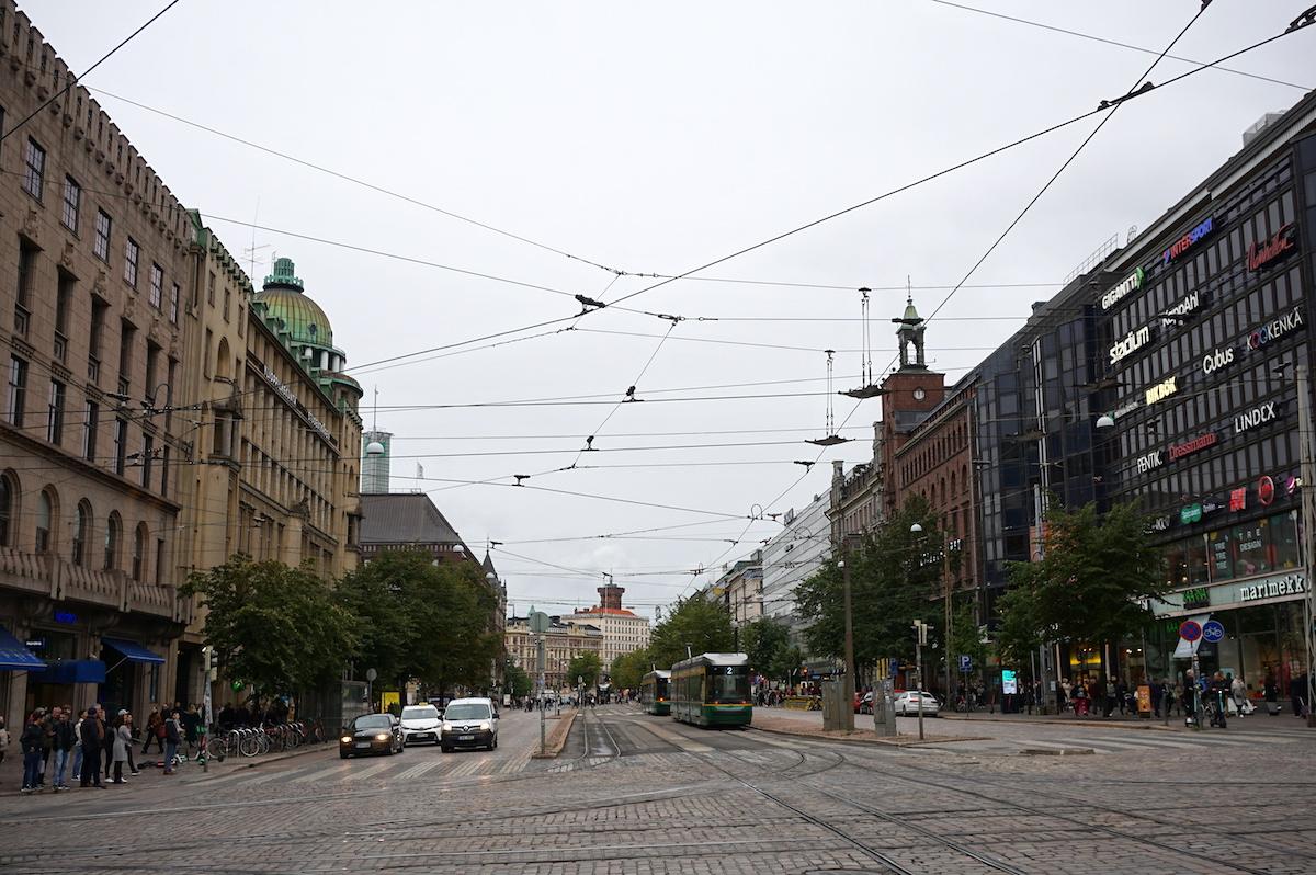 Helsinki im Herbst, Stadtzentrum