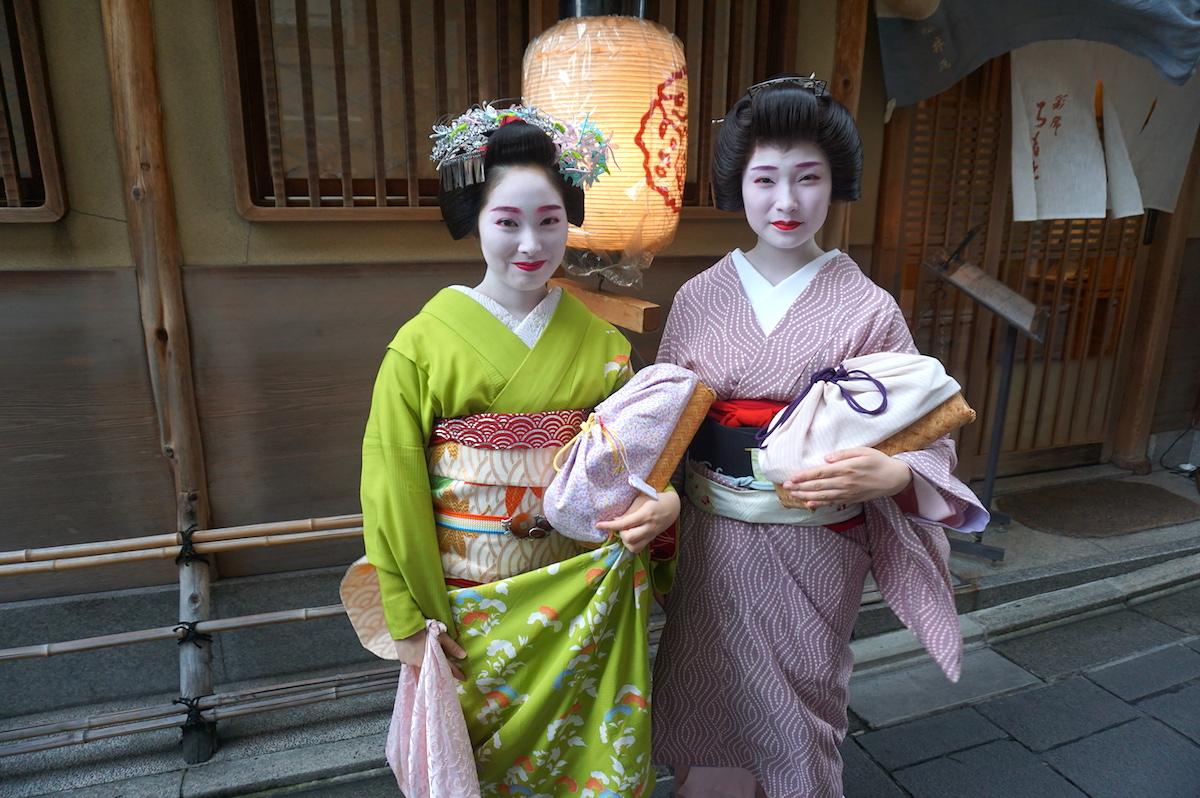 Kyoto Gion Geiko / Maiko