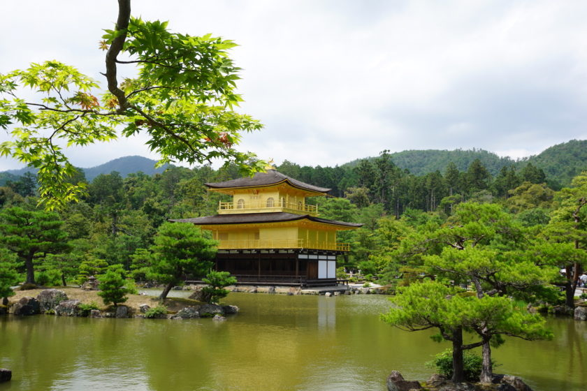 Goldener Pavillion Kinkaku-j