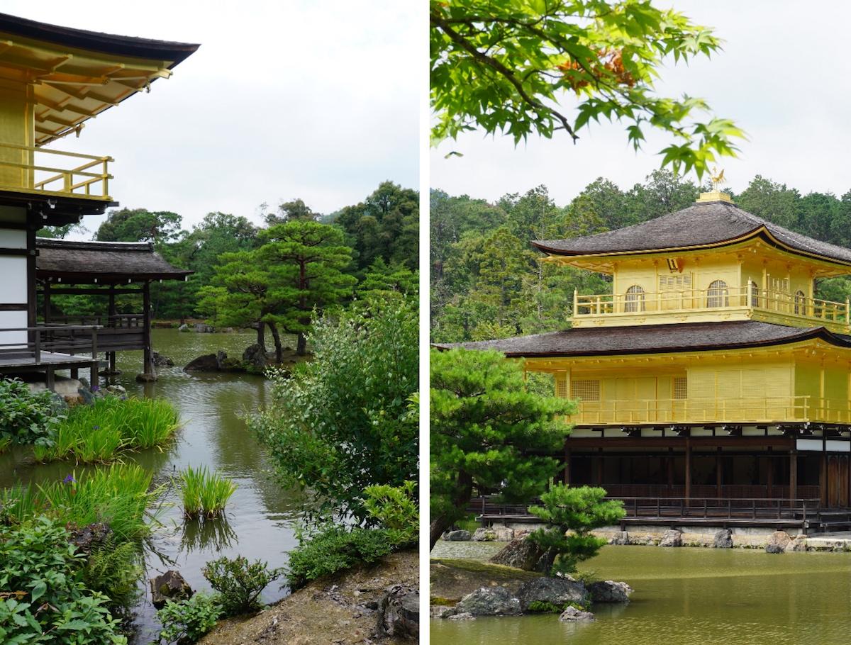 Goldener Pavillion Kinkaku-ji