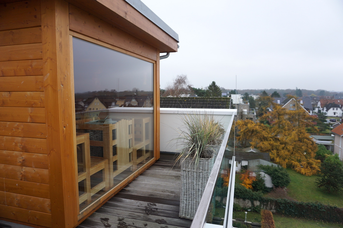 Hotel SAND Dachterrasse mit Sauna
