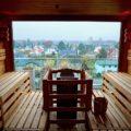 Hotel SAND Timmendorfer Strand Sauna auf der Dachterrasse