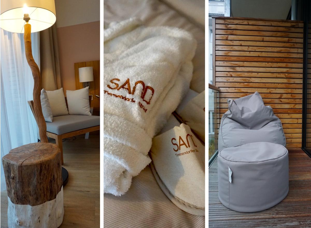 Hotel SAND Timmendorfer Strand Zimmer