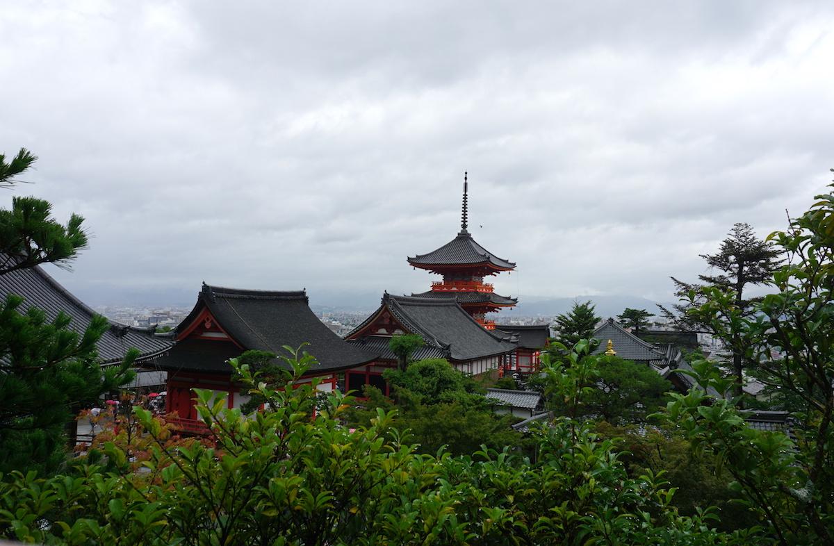 Kyoto Tipps, Blick über die Stadt