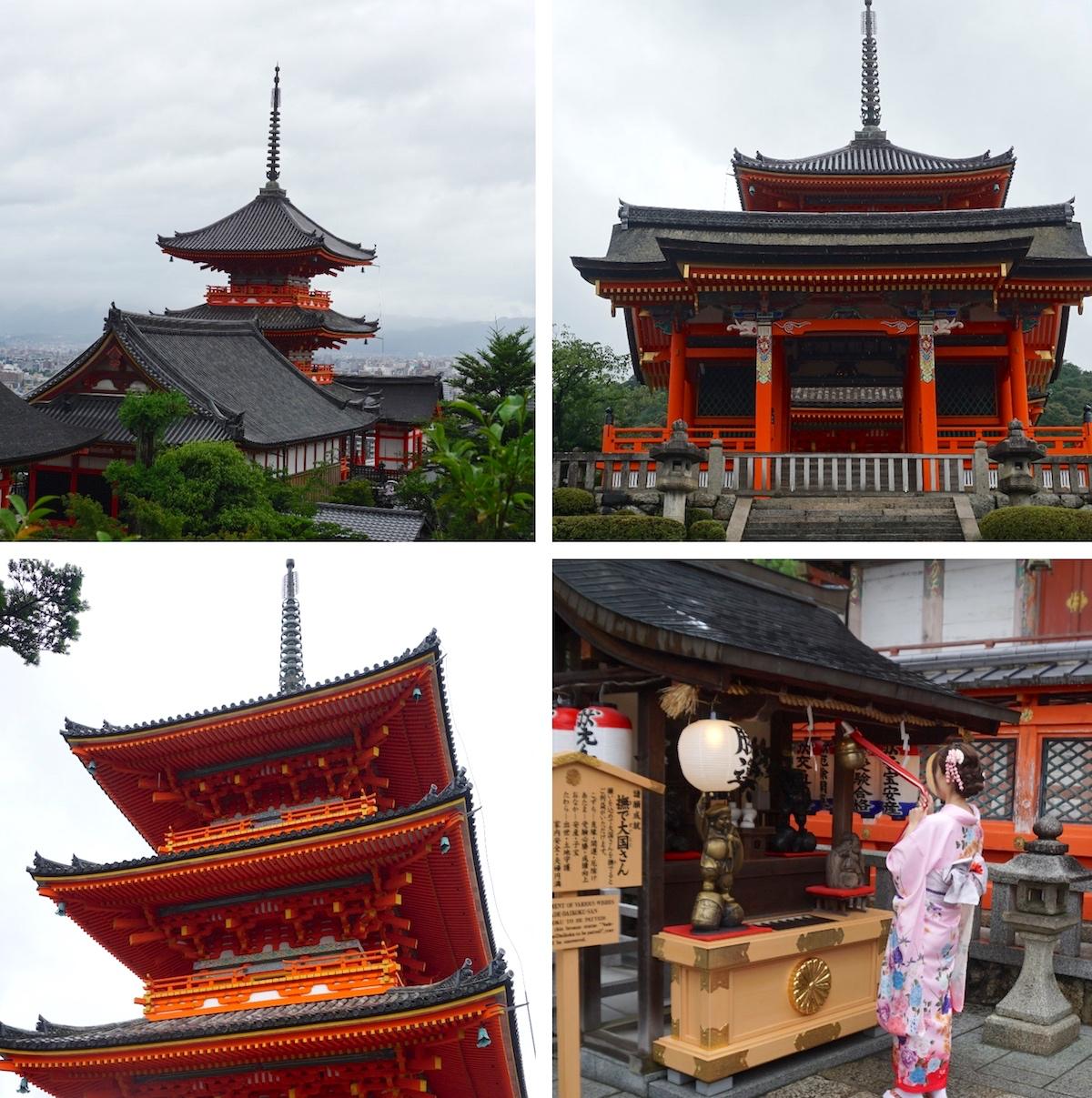 Kyoto Tipps, Tempel Kyomizudera, Tempel des reinen Wassers