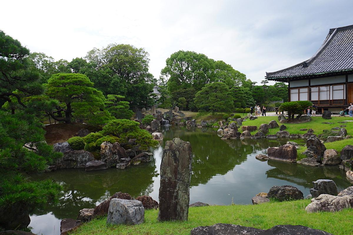 Nijo-jo Garten, Kyoto
