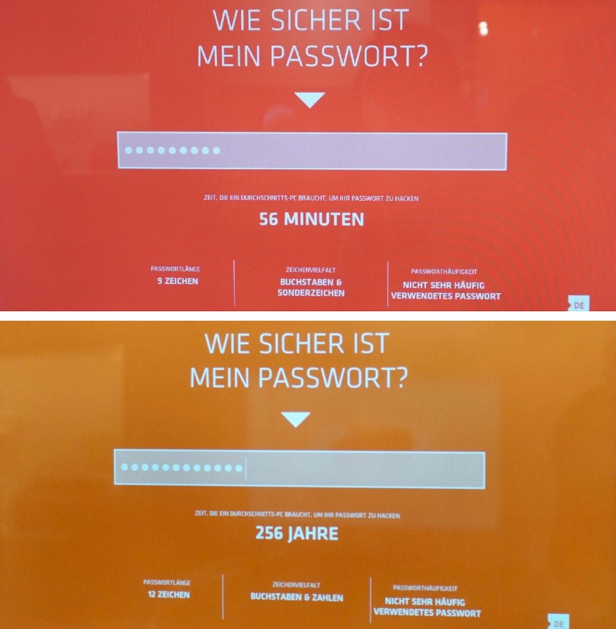 Deutsches Spionagemuseum, Passwort-Hacker