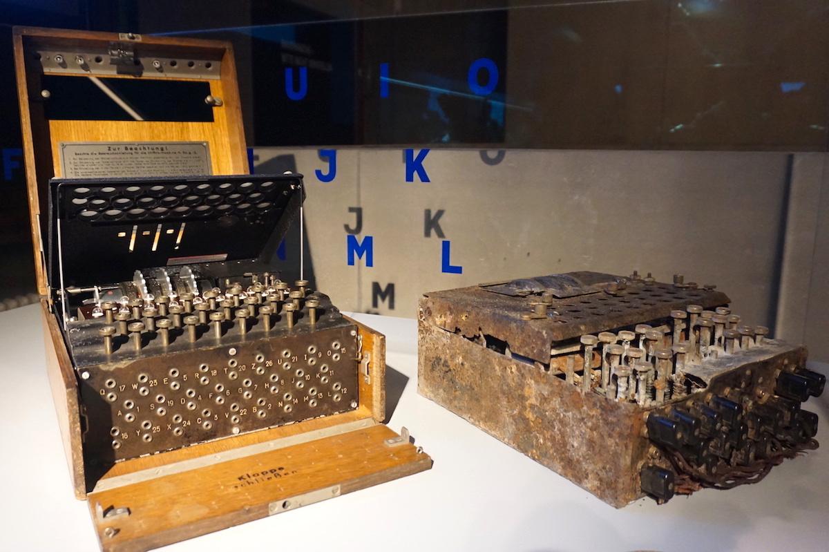 Spionagemuseum Berlin, Enigma