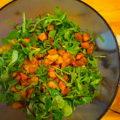 Wintersalat mit Butternutt-Kürbis, Orange und Baby-Kale