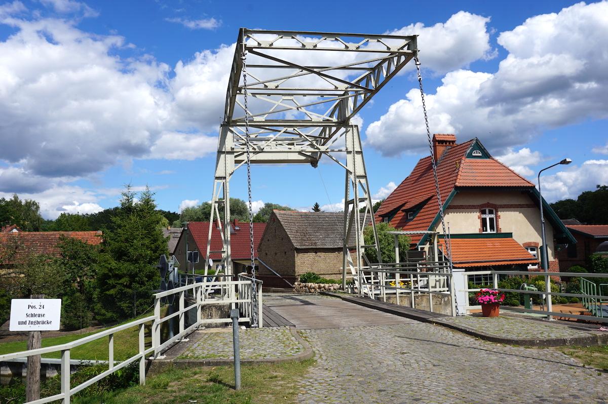 Brandenburg Altfriesack, Schleuse