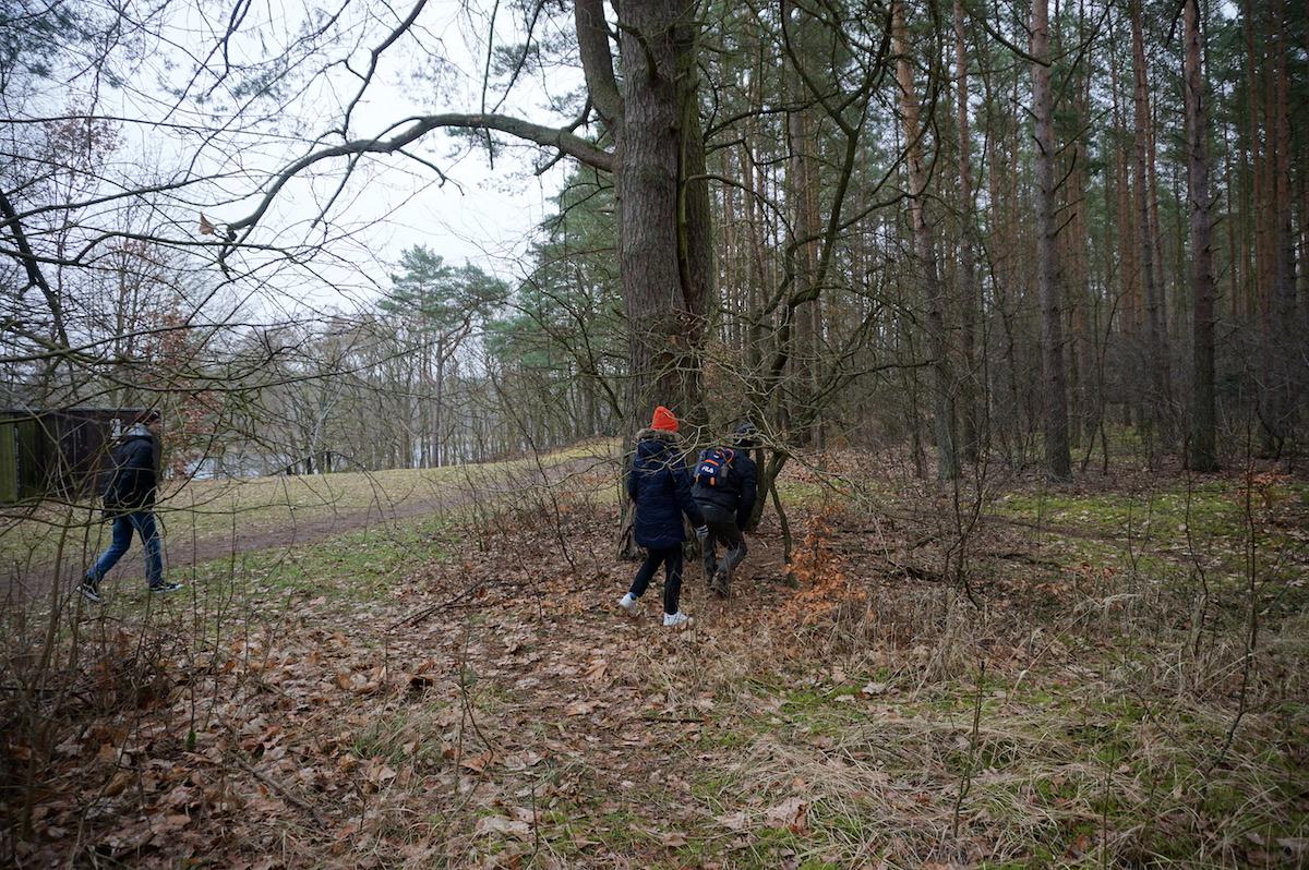 Geocaching am Wutzsee, Brandenburg
