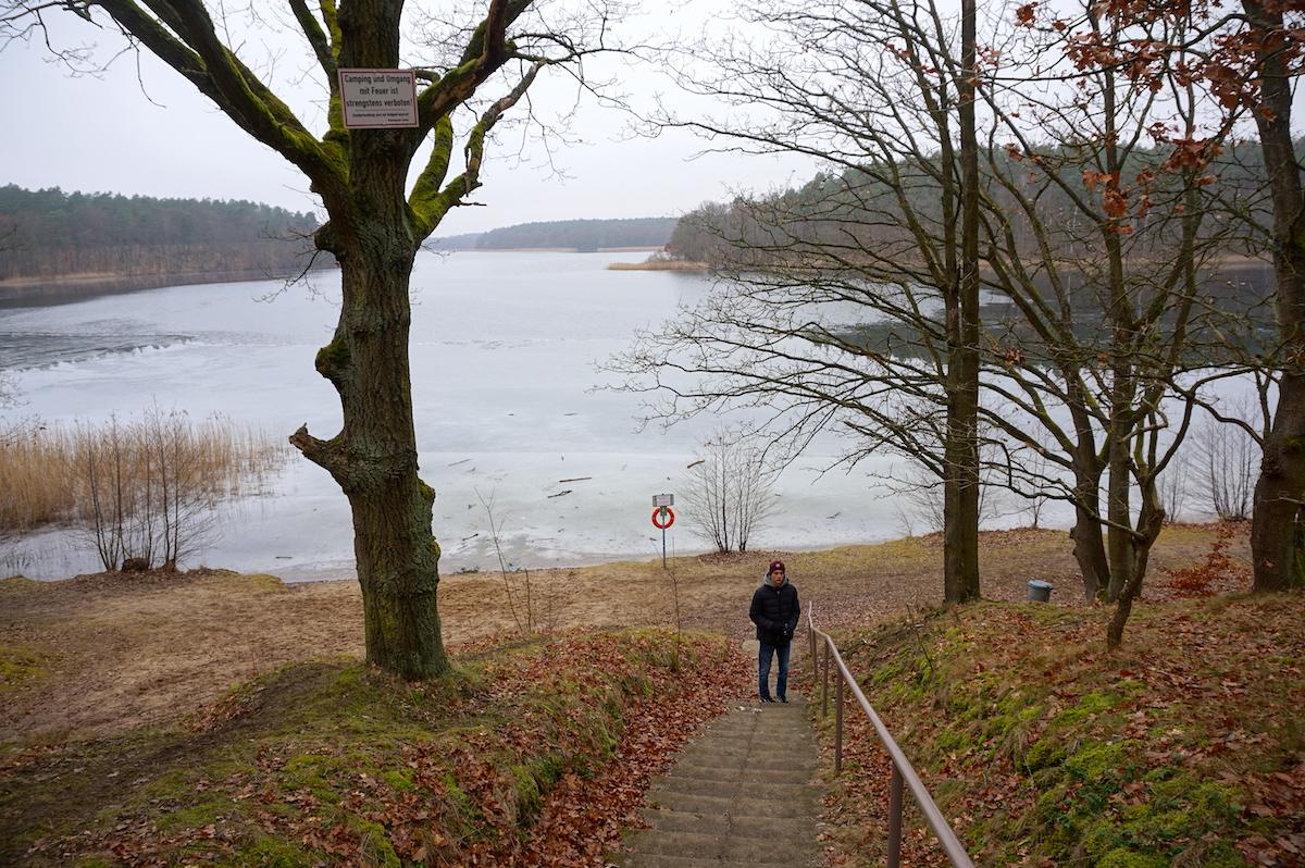 Wanderung Wutzsee Brandenburg