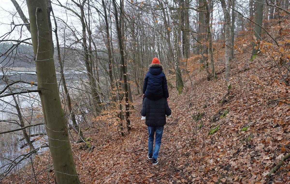 Wanderung Wutzsee, Lindow Brandenburg