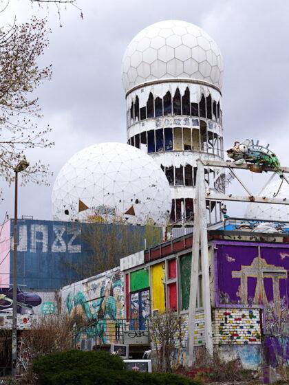 Berlin Teufelsberg Abhörstation