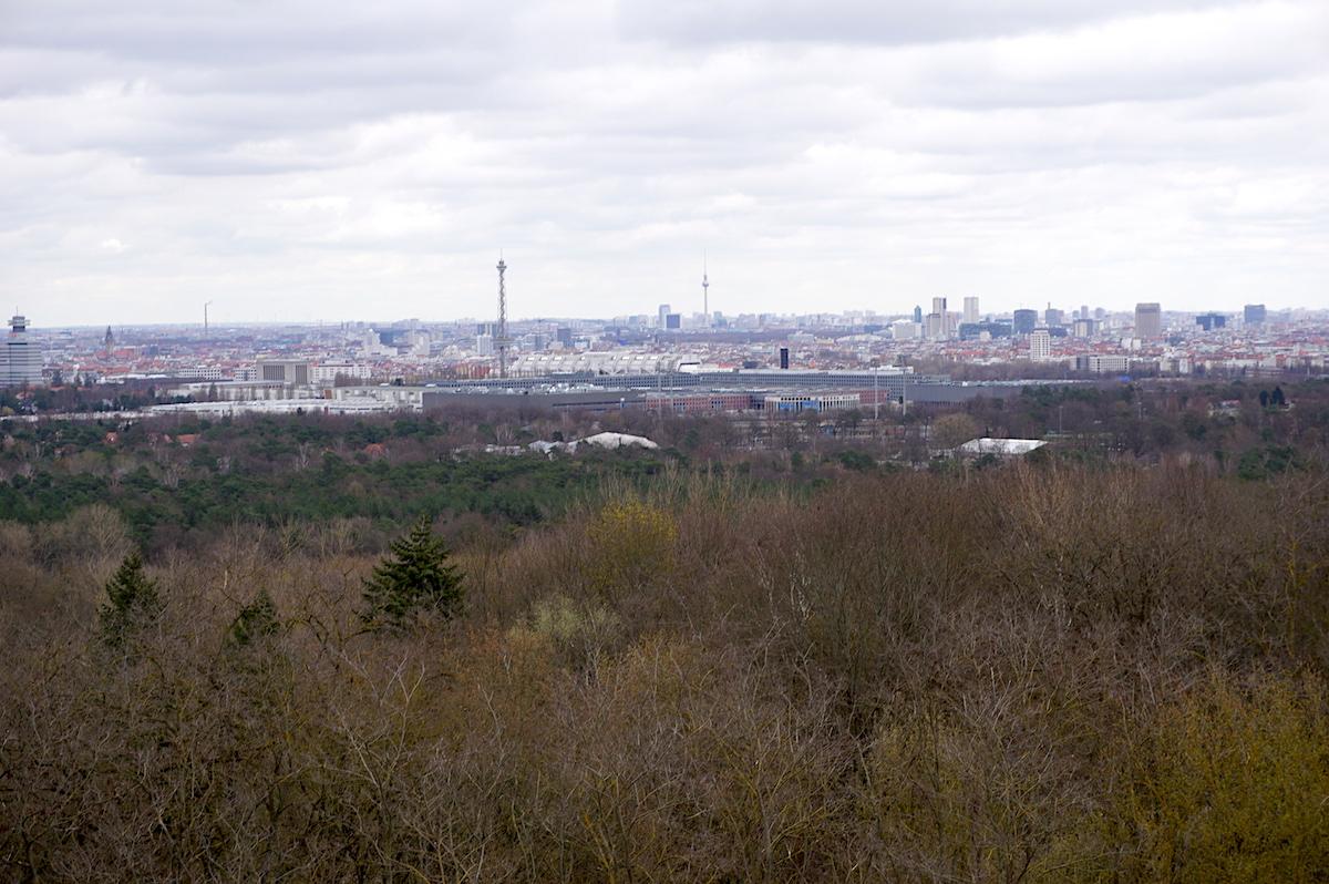 Aussicht Berlin Teufelsberg