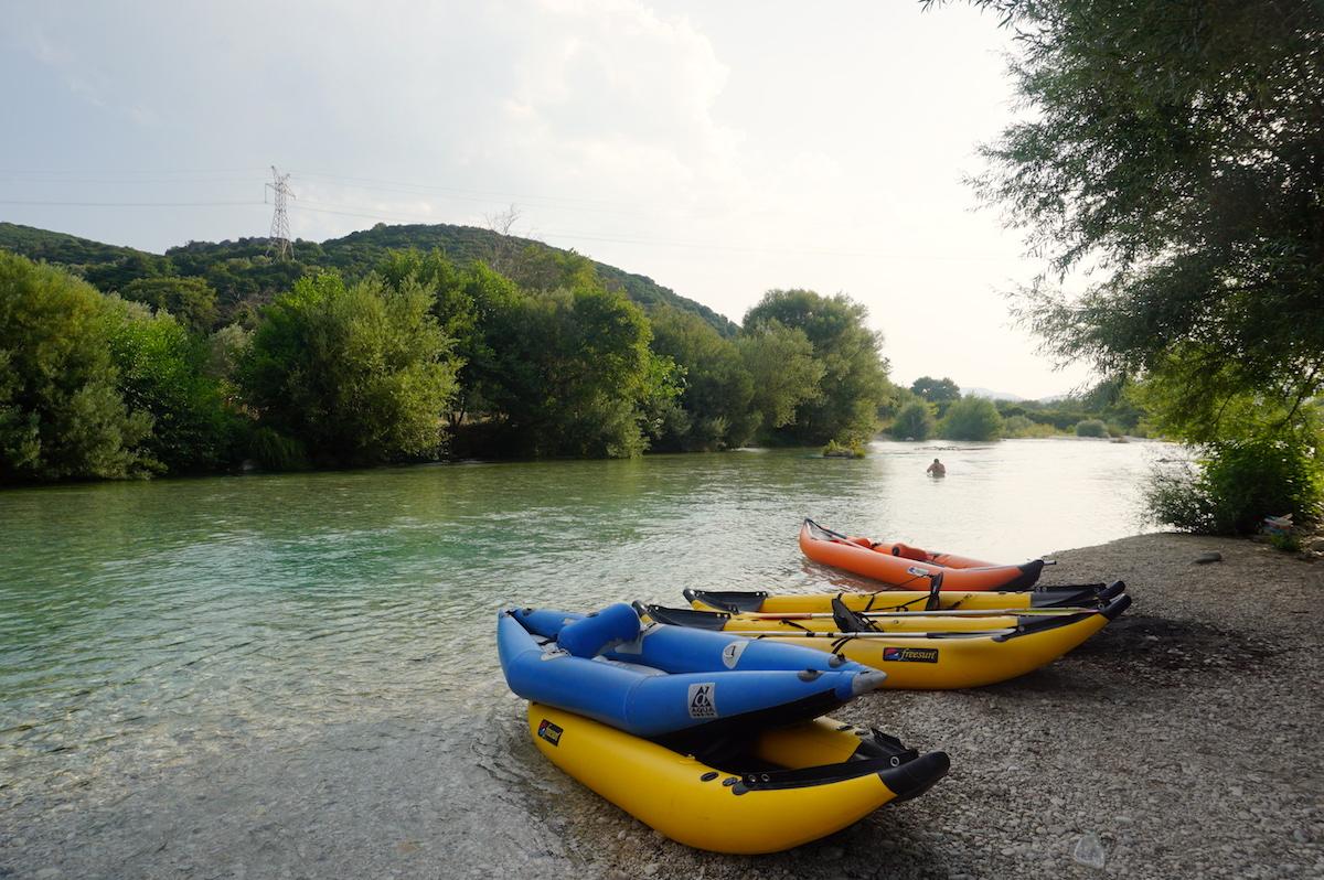 Bootstour Fluss Acheron