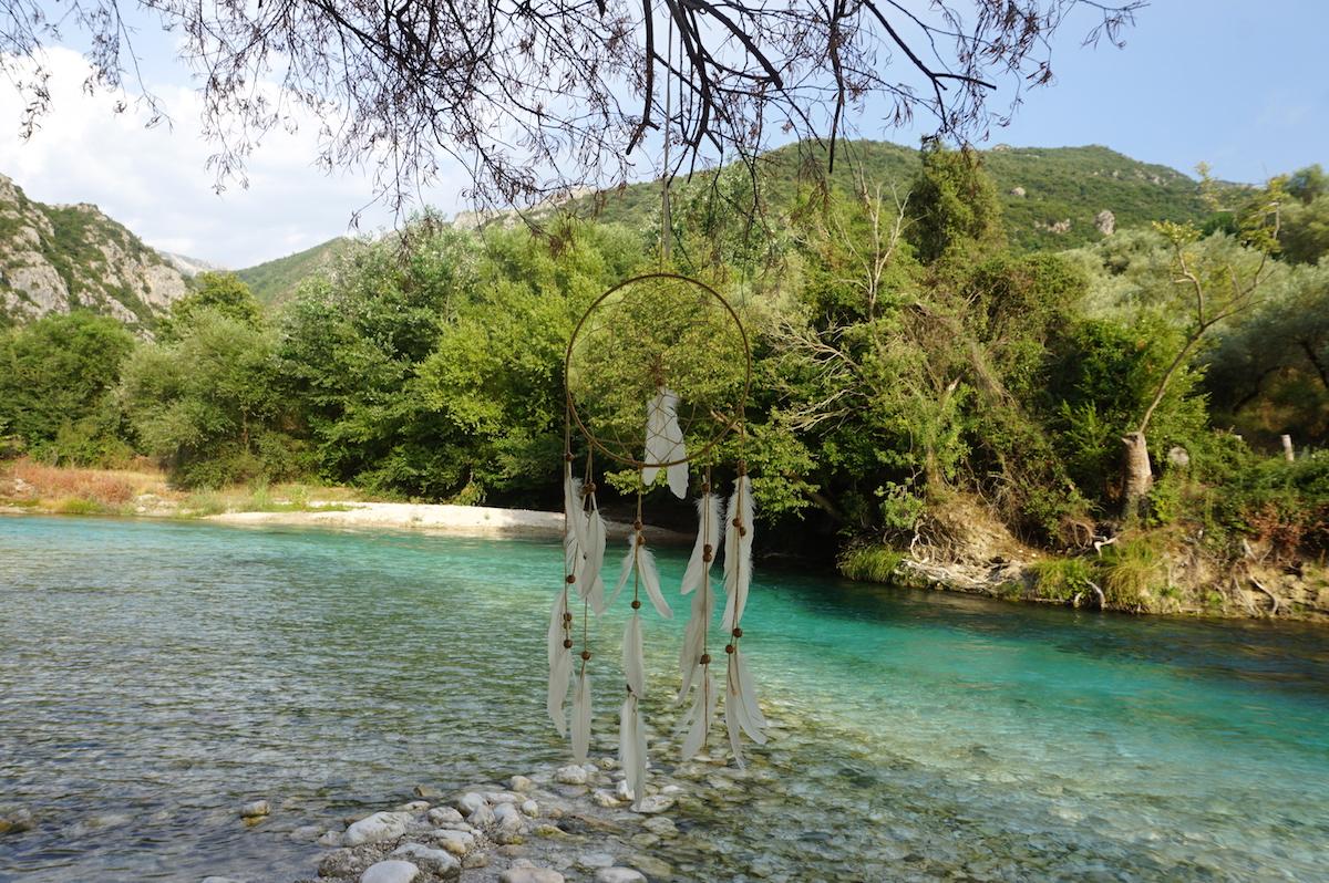 Fluss Acheron Griechenland