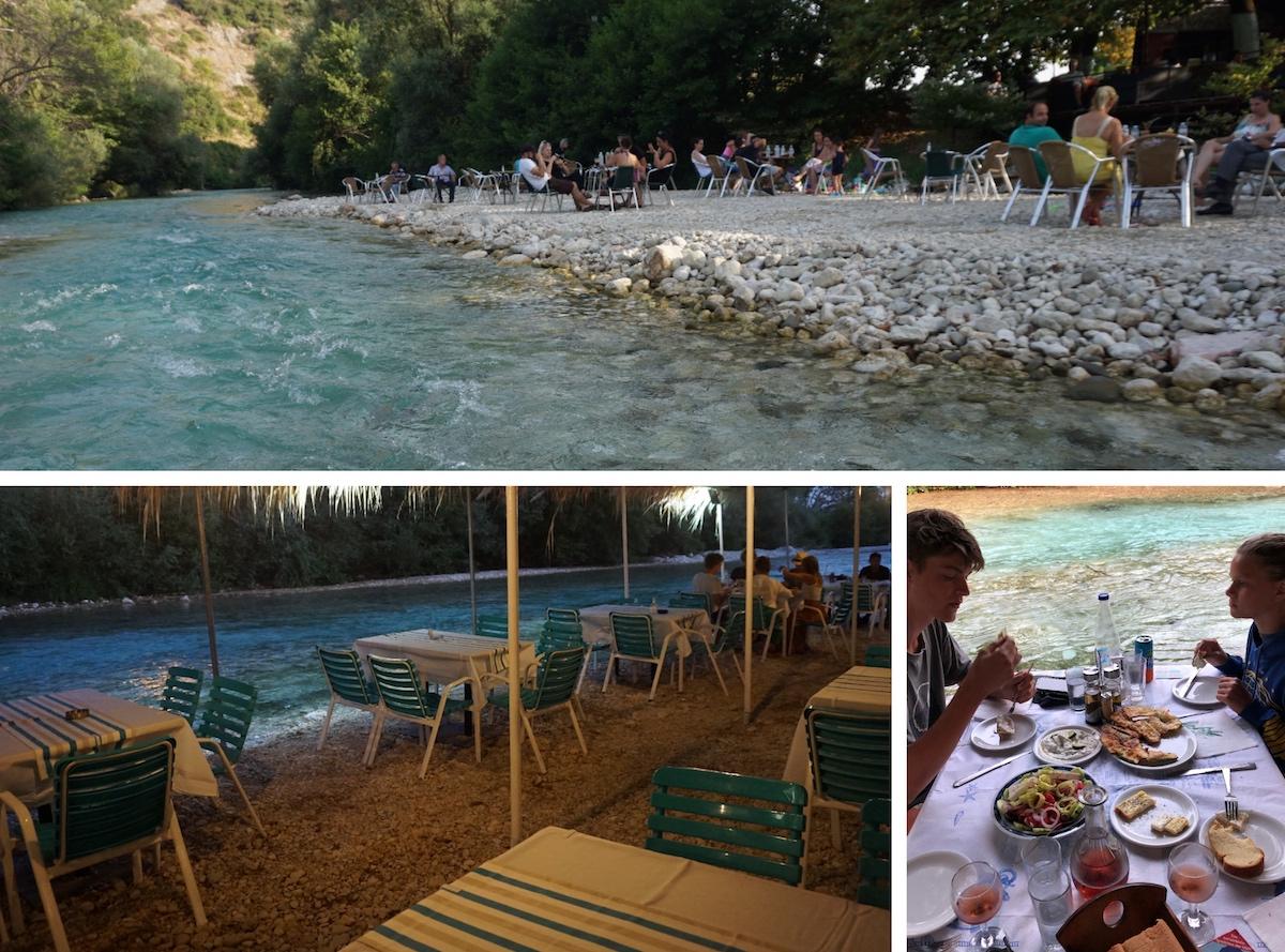 Gliki am Acheron, Epirus Griechenland