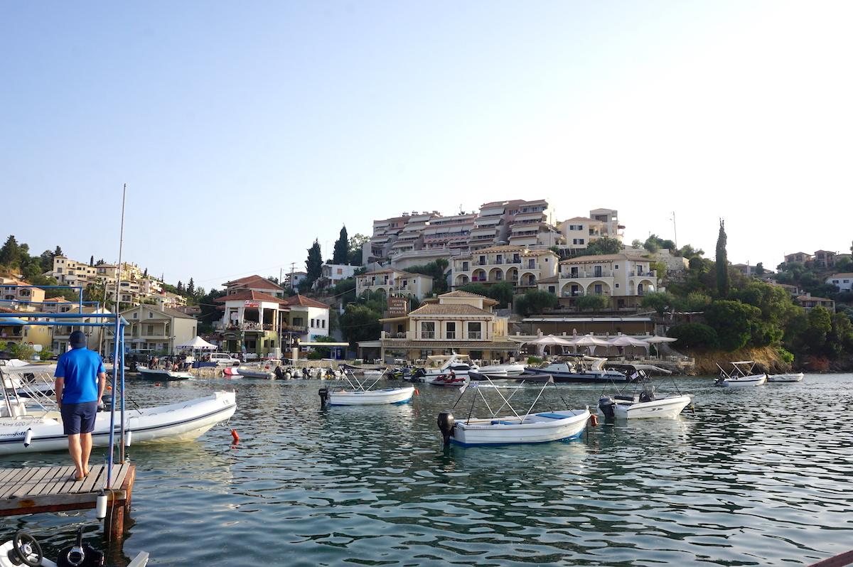 Syvota, Epirus, Griechenland