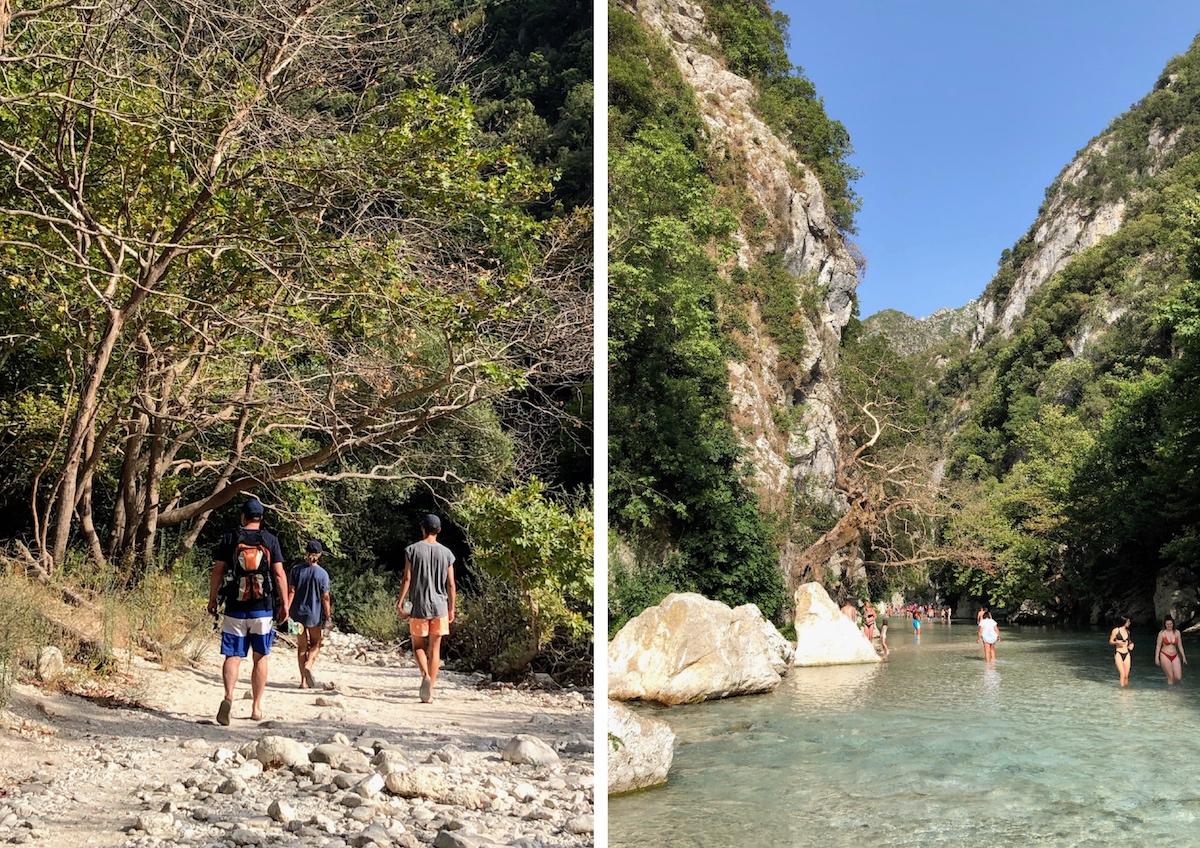 Wanderung am Acheron, Epirus
