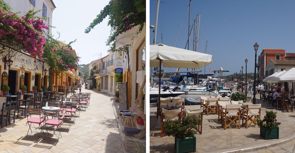 Inselhauptstadt Gaios, Paxos