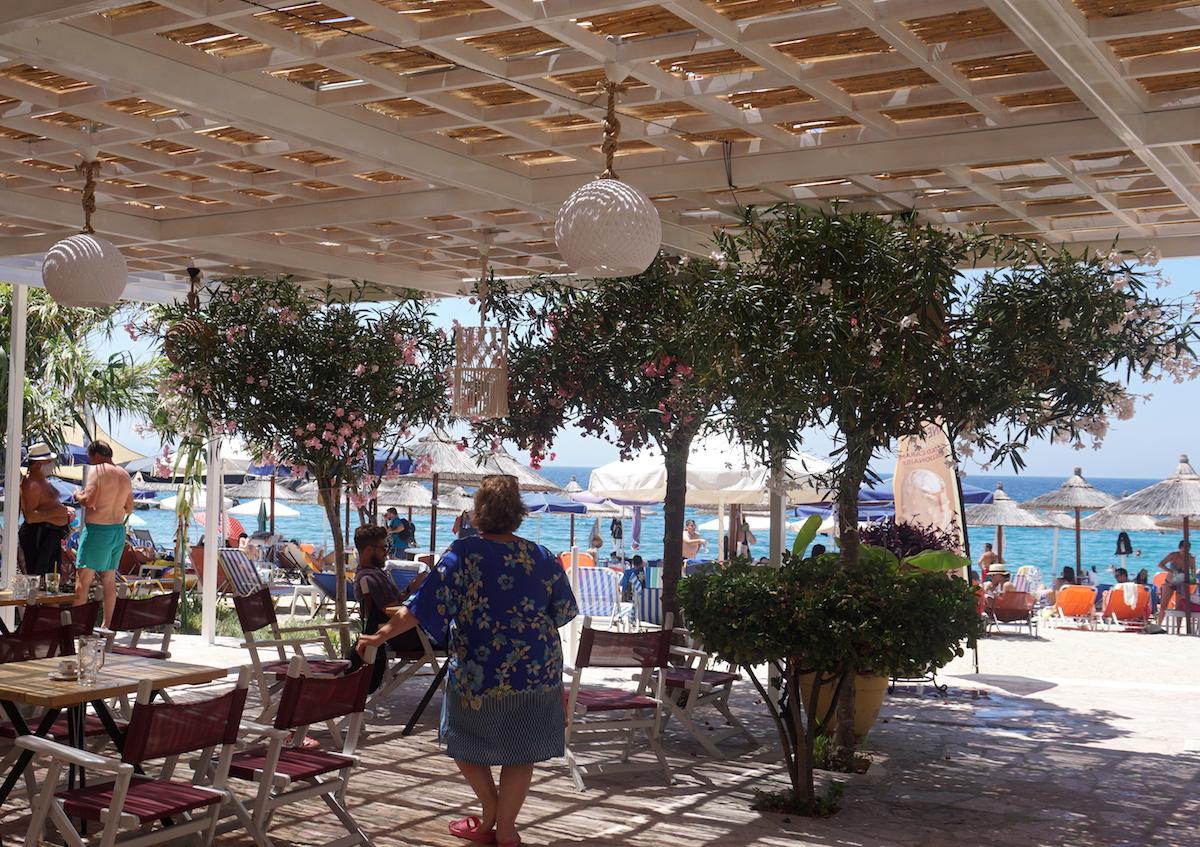 Parga Tipp Sarakiniko Beach Alex Bar